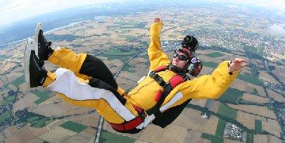 Sturz aus 4500 Metern Höhe! Warum überlebte Michael Homes?: Die Antwort gibt Galileo X.perience am 29. Oktober 2010 um 22.15 Uhr auf ProSieben. Foto: ProSieben