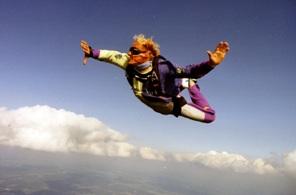 Fallschirmsprung von Jochen Schweizer