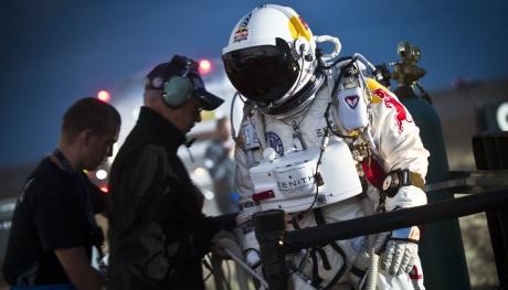 Felix Baumgartner vor einem Test - Foto: Predrag Vuckovic/Red Bull Content Pool